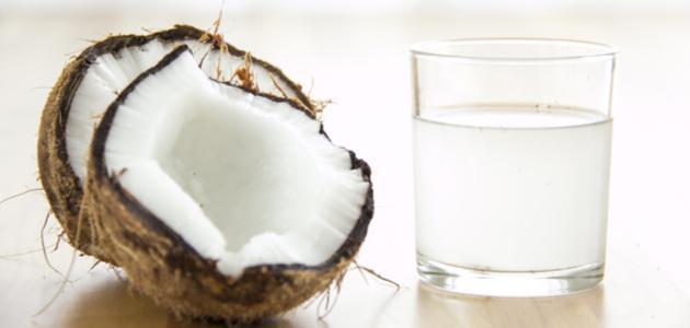 صورة فوائد شرب ماء جوز الهند