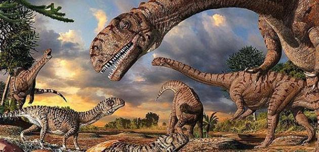صورة أين تعيش الديناصورات