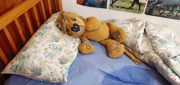 صورة التبول اللاإرادي للكبار أثناء النوم