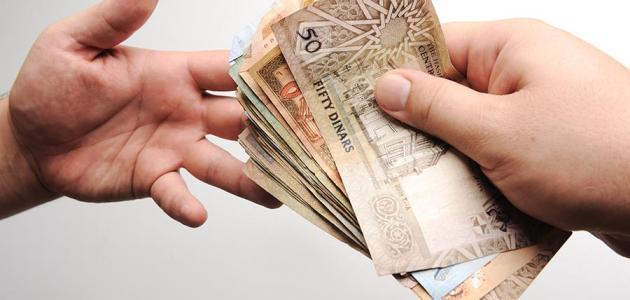 صورة لمن تعطى زكاة المال