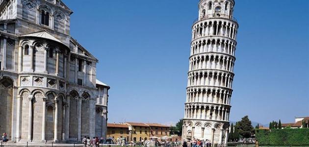 صورة في أي مدينة يقع برج بيزا