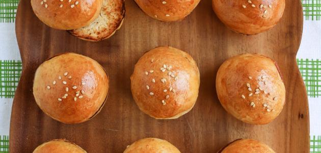 صورة طريقة عمل خبز الهمبرجر
