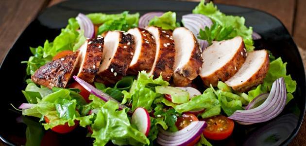 صورة طريقة تحضير دجاج مشوي للرجيم