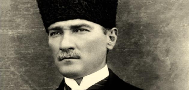 صورة مصطفى كمال أتاتورك
