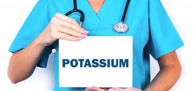 صورة ارتفاع نسبة البوتاسيوم في الدم