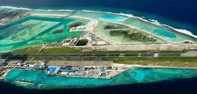 صورة اسم مطار جزر المالديف