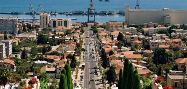 صورة معلومات عن مدينة حيفا