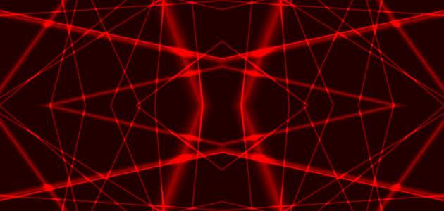 صورة أشعة الليزر
