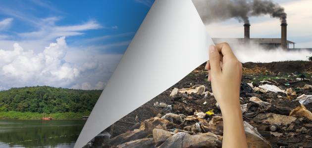صورة كيف يؤثر الإنسان على البيئة