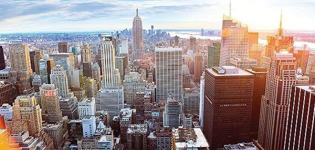 صورة عدد سكان نيويورك