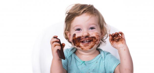 صورة فوائد الشوكولاتة للأطفال