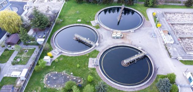صورة كيفية معالجة الماء الملوث