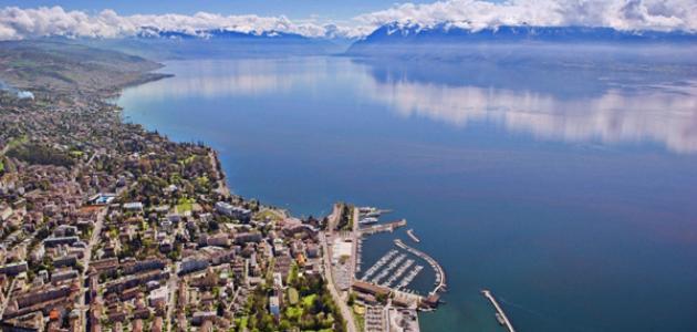صورة مدينة لوزان في سويسرا