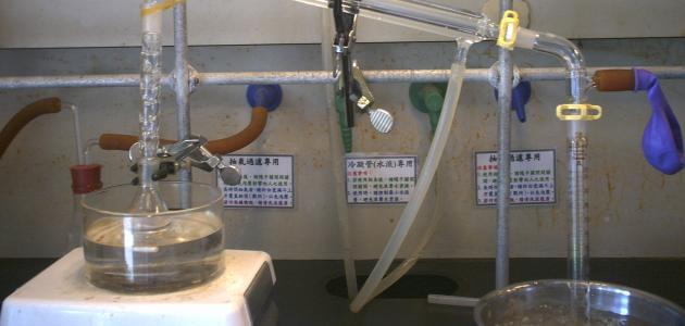 صورة كيف يتم فصل مكونات البترول