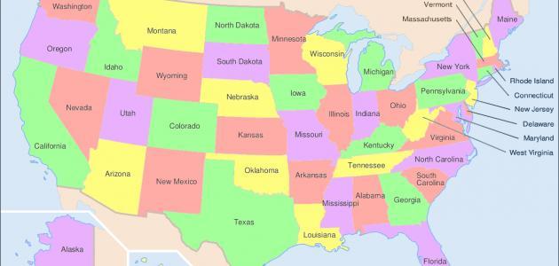 صورة ما هي مساحة أمريكا