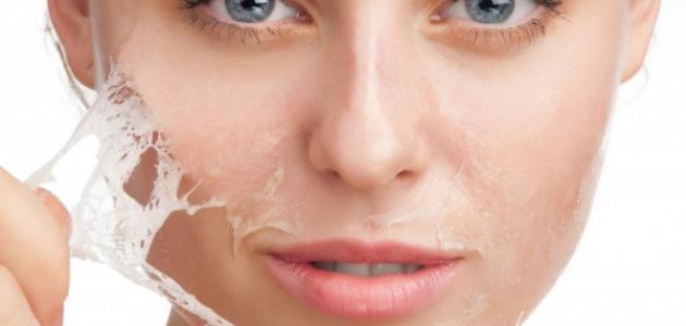 صورة وصفات لتقشير الوجه