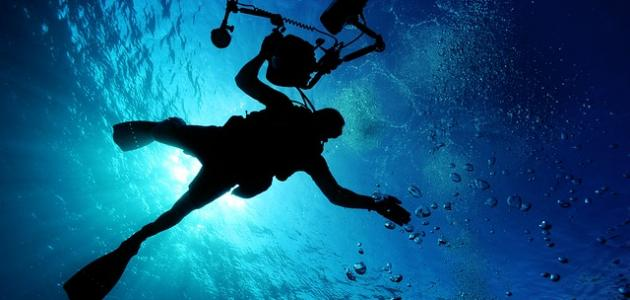 صورة الضغط تحت الماء
