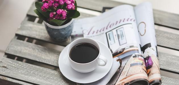 صورة كلمات عن القهوة السوداء