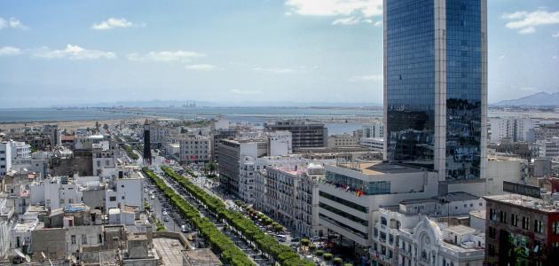 صورة أكبر مدينة في تونس