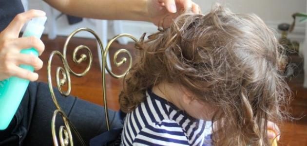 صورة كيف أفُك تشابك شعري