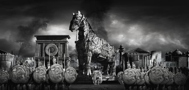 صورة ما قصة حصان طروادة