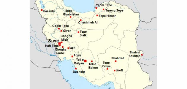 صورة ما هي مساحة إيران