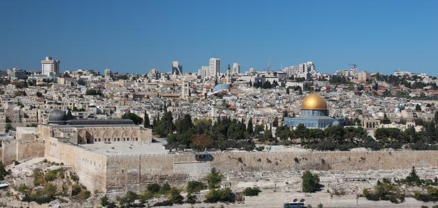 صورة أكبر مدن في فلسطين