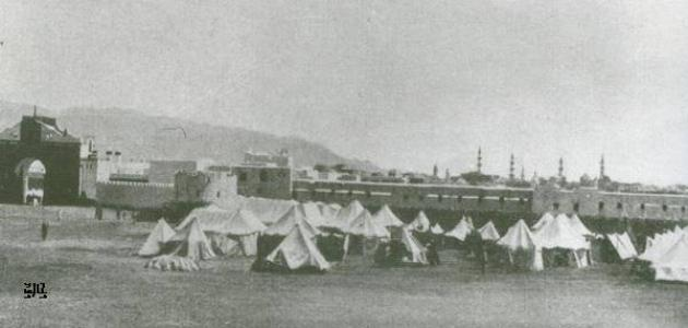 صورة المدينة المنورة قبل الهجرة