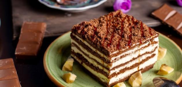 صورة طريقة عمل الكيكة الباردة