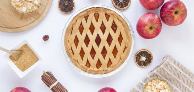 صورة كيفية تحضير فطيرة التفاح
