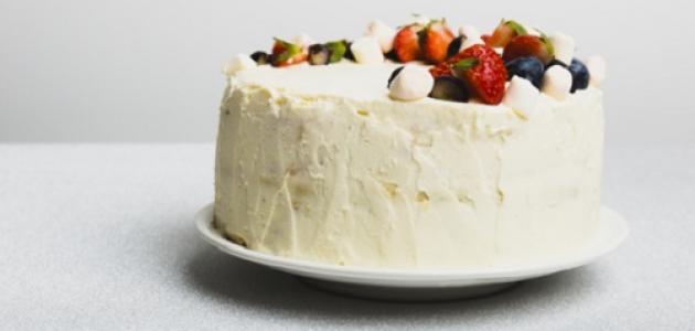 صورة كيفية إعداد كعكة