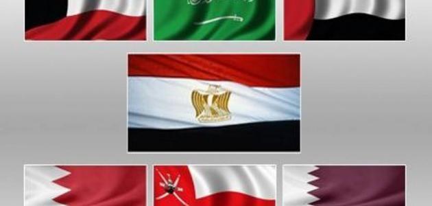 صورة دول الخليج واليمن
