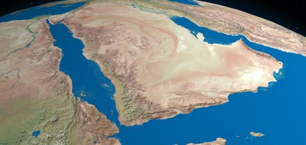 صورة ما هي حدود شبه الجزيرة العربية