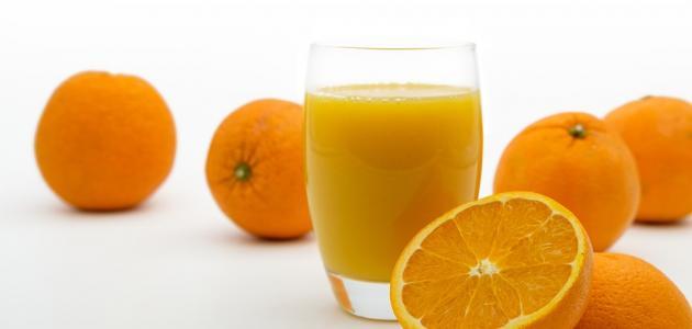 صورة طريقة عمل عصير برتقال طازج بالخلاط
