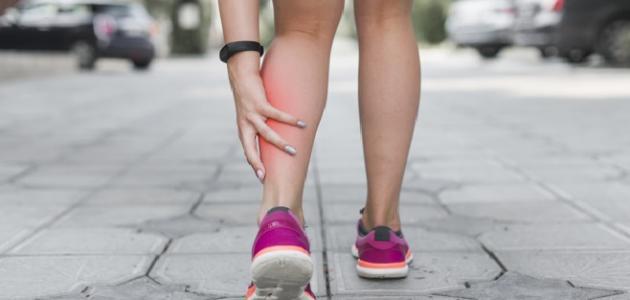 صورة ألم في ساقي اليمنى