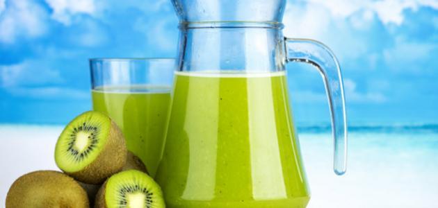 صورة طريقة عمل عصير الأناناس والكيوي
