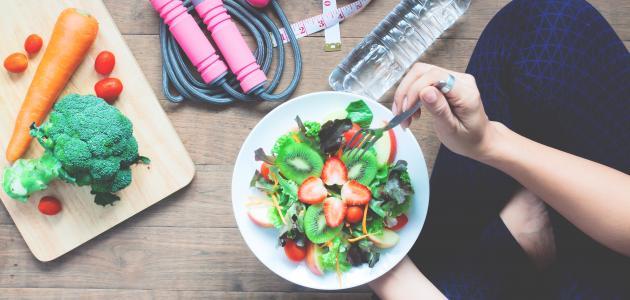 صورة النظام الغذائي والصحة