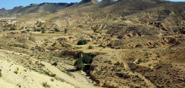 صورة تضاريس البلاد التونسية