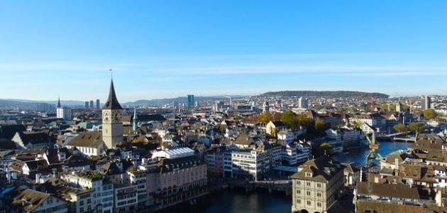 صورة أكبر مدينة سويسرية بعدد السكان