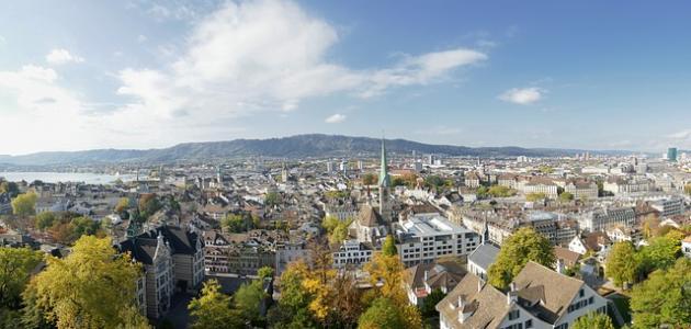 صورة أكبر مدينة سويسرية من حيث عدد السكان
