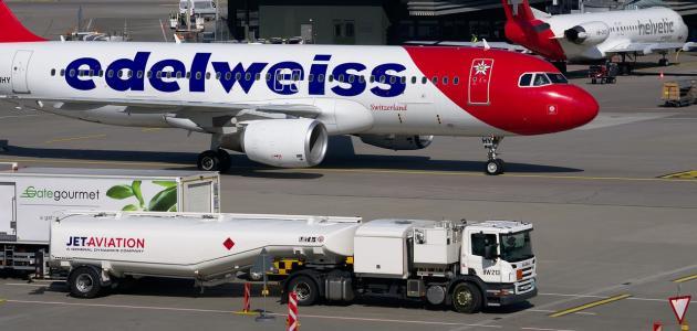 صورة ما هو نوع الوقود المستخدم في الطائرات