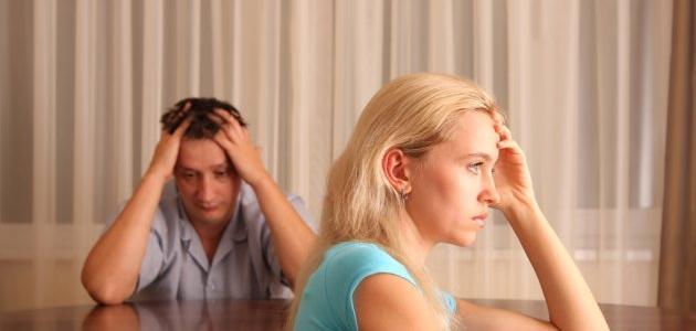 صورة أسباب الطلاق عند الرجل