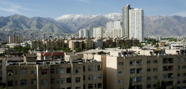 صورة أين تقع طهران