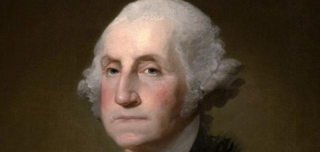 صورة أول رئيس للولايات المتحدة