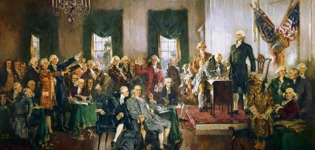 صورة أول رئيس لأمريكا