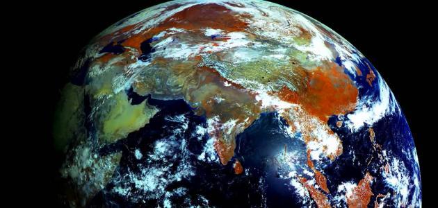 صورة ما شكل الارض