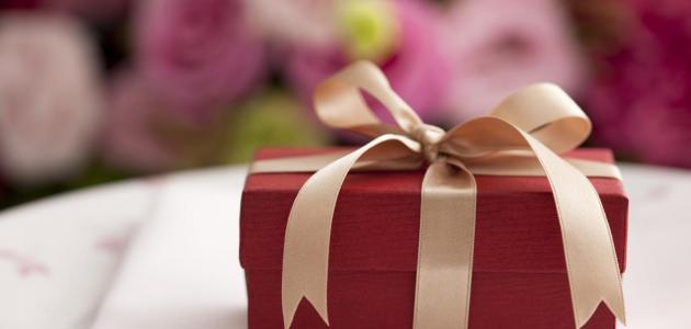 صورة تفسير الهدية في المنام