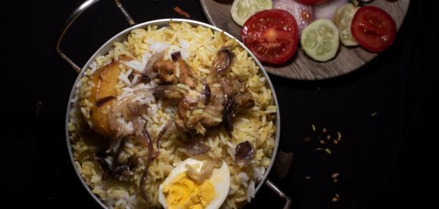 صورة طريقة عمل أرز زربيان باللحم