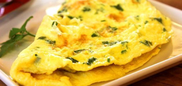 صورة أطباق يدخل في تكوينها البيض
