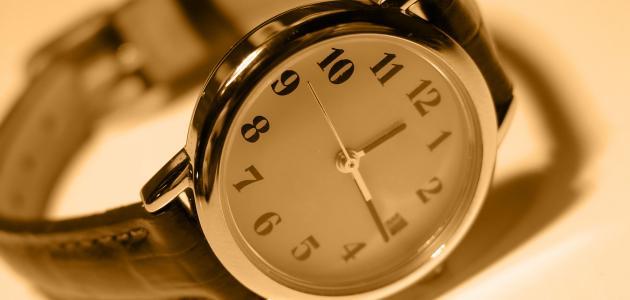 صورة تفسير الساعة في الحلم